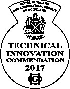 technical award certificate of commendation 2017