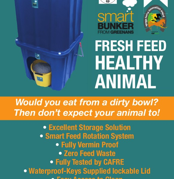 Animal Feed Storage Bin 1