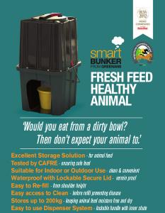 Animal Feed storage bunker