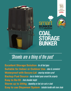 Smart Bunker Coal and slack Storage