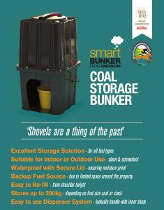 Smart Bunker Coal and slack Storage