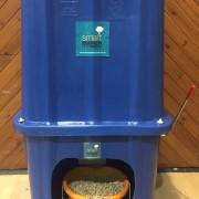Wood Pellet Storage Bin