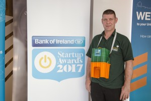 Pictured at the Start up Awards 2017 Networking evening for Dublin and the rest of Leinster was Niall Greenan from Greenans Products Ltd (nominated for Sustainable Startup and Creative Retail Startup, Connacht/Ulster).